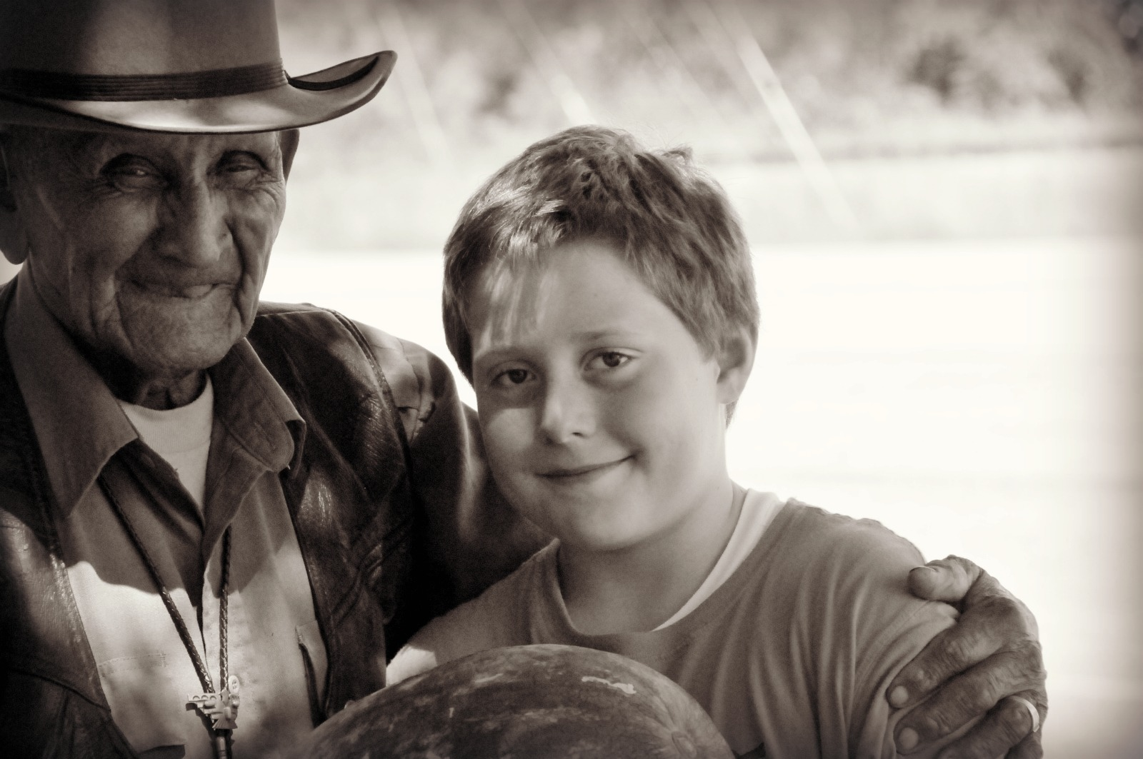 Tex and Boy