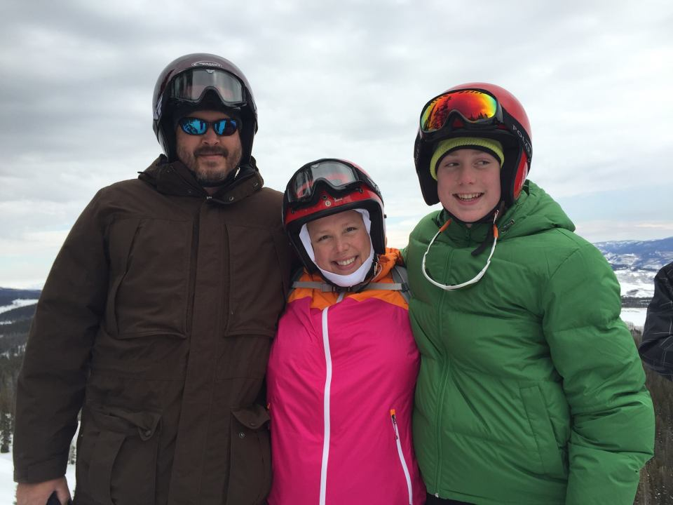 Family in Steamboat Springs